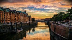 Hamburg como destino de vacaciones y feriado