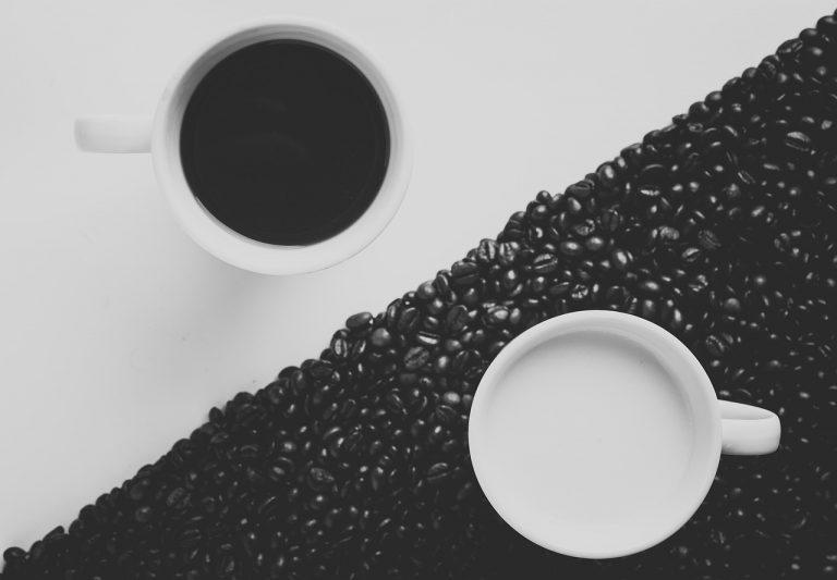 registro de marca simbolizado por granos de cafe